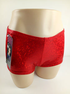 Derby Skinz Shattered Glass Red