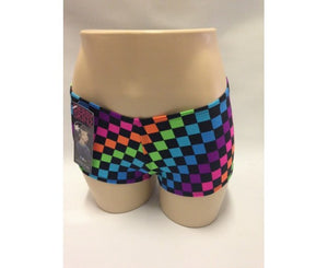 Derby Skinz Rainbow Checkers