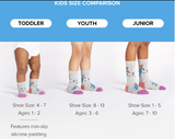 Sock it to Me Glazed Galaxy Junior Knee High Socks
