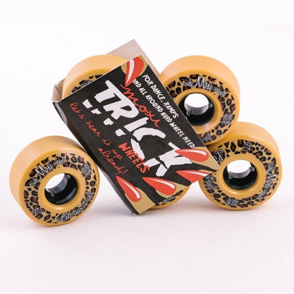 Moxi Trick Wheels 55mm/97a Leopard 4pack