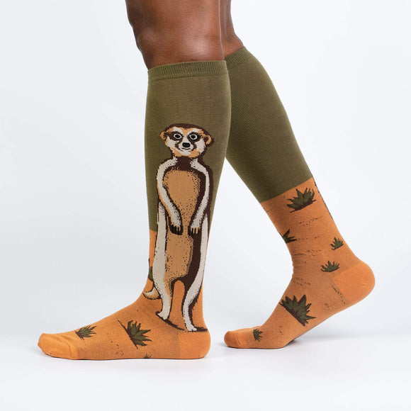 Sock it to Me Meerkat Manor Knee High Socks