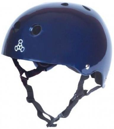 Triple 8 Brainsaver Helmet Blue Gloss