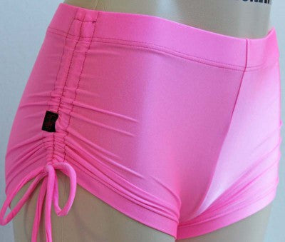 Deby Damage Multisnatch Booty Shorts Pink - Medium (last one left)