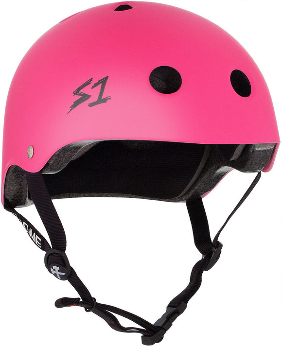 S1 Lifer Helmet Hot Pink Matte SMALL