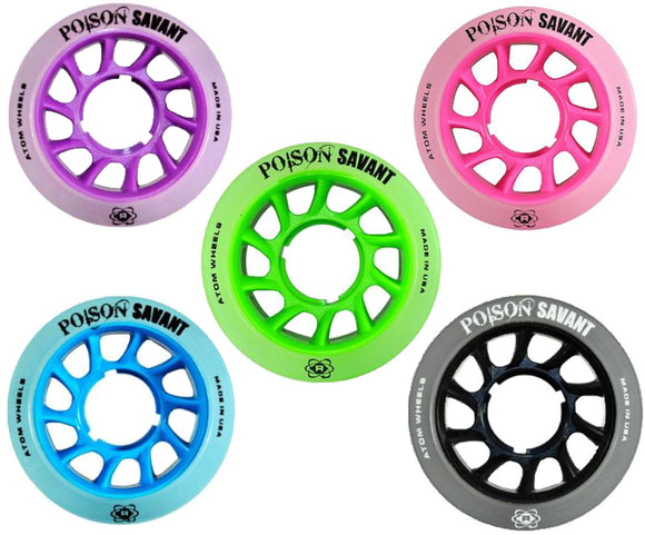 Atom Poison Savant Wheels 59mm 4pack