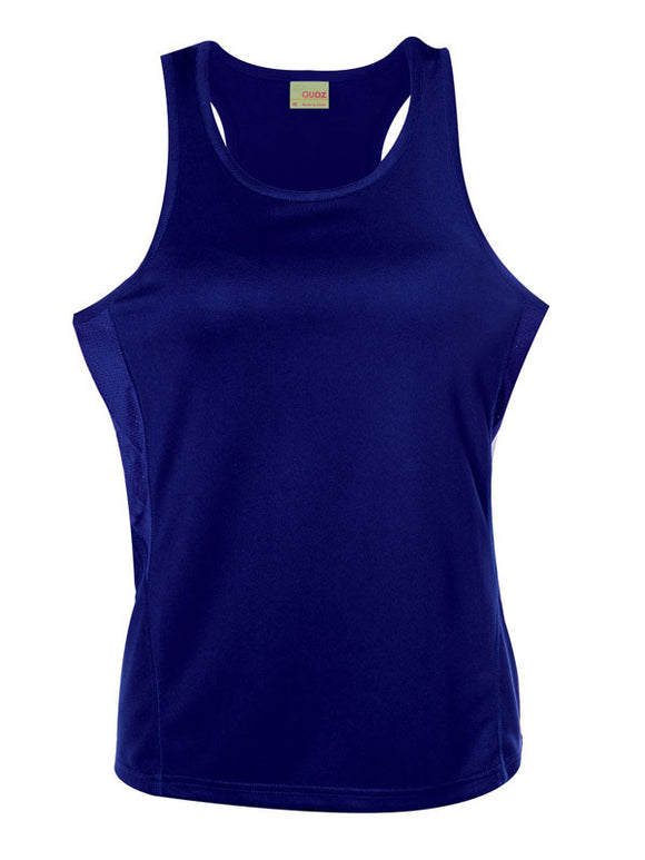 Scrimmage Singlet Womens Royal Blue