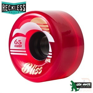 Grn Mnstr Reckless Bliss 65mm 78a Wheels 4 Pack