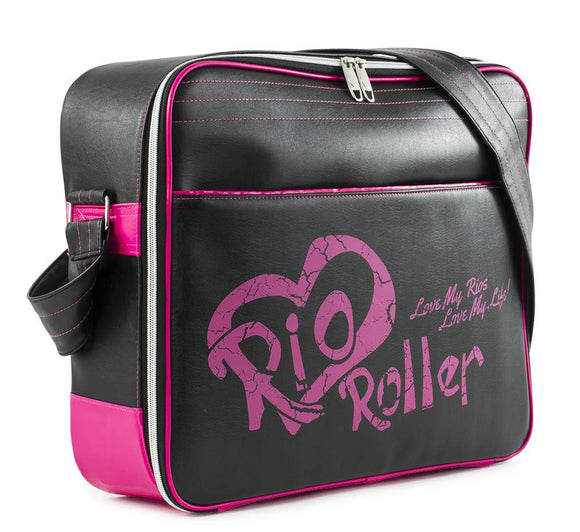 Rio Roller Fashion Bag Black Pink