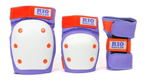 Rio Roller Triple Pad Set - Purple Orange