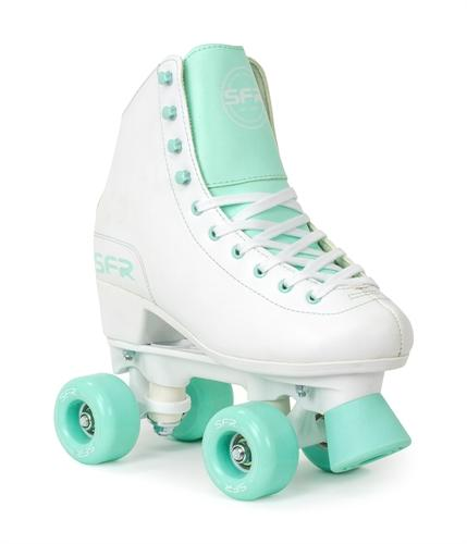 SFR Figure Skates White and Green