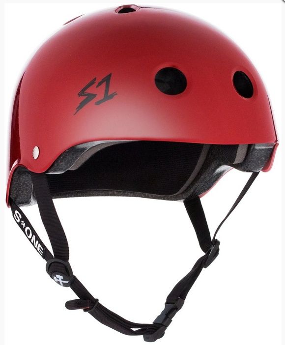S1 Lifer Helmet Scarlet Red Gloss