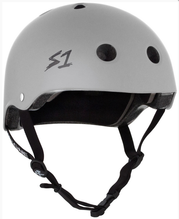 S1 Lifer Helmet Light Grey Matte