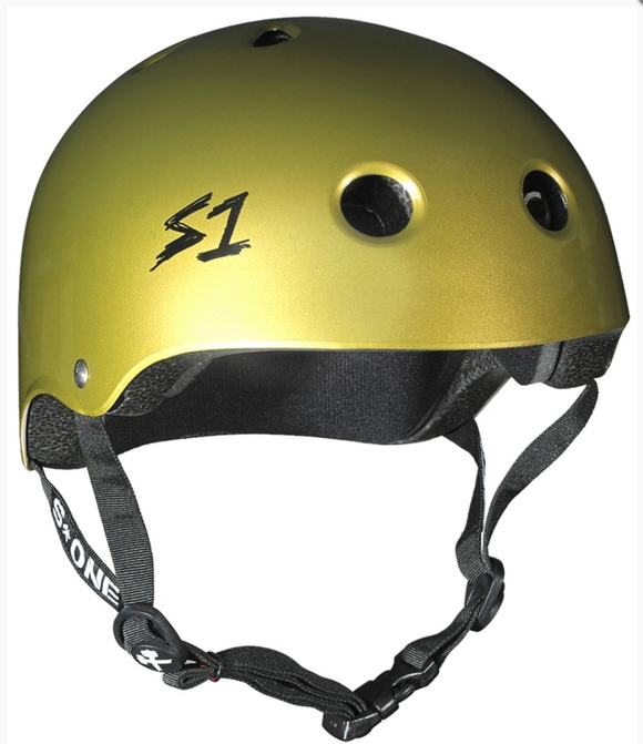 S1 Lifer Helmet Metallic Gold