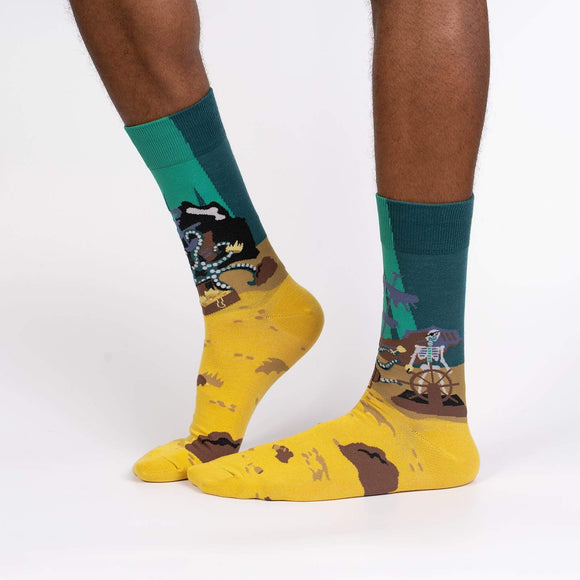 Sock it to Me Skeleton Crew Mens Crew Socks