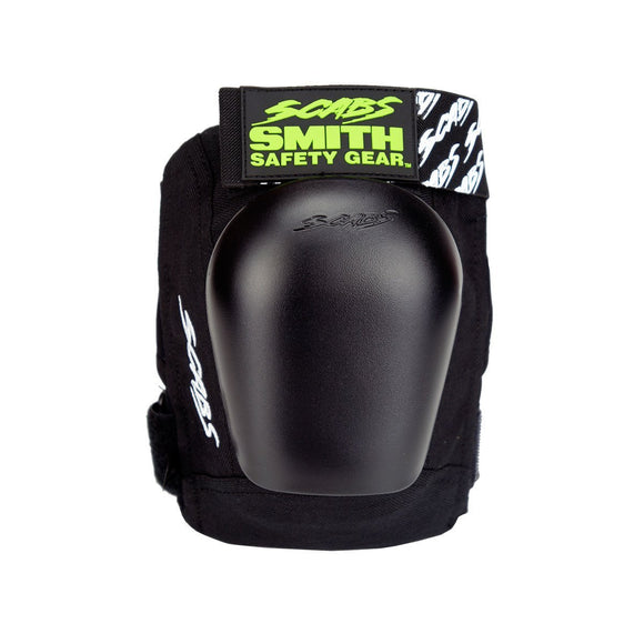 Smith Scabs Junior Pro Knee Pad Black w Black Caps