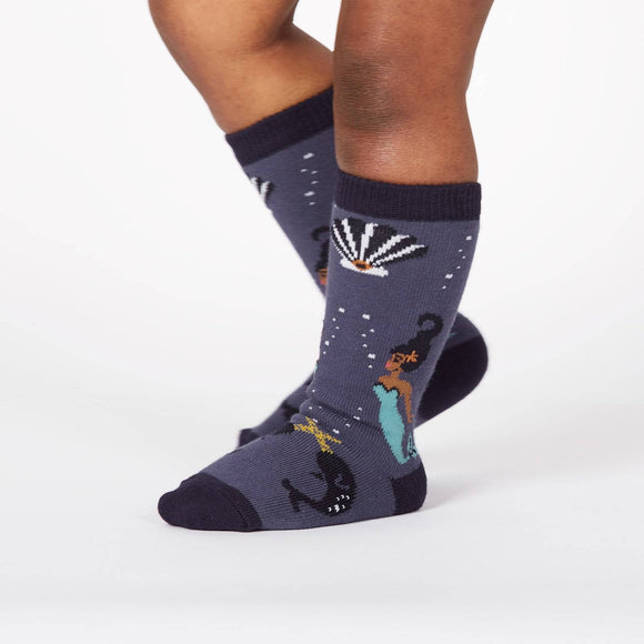 Sock it to me Deep Sea Queen Toddler (aged 1-2) Knee High Socks