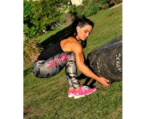 Sassfit Traditional Camo Full Length Compression Tights