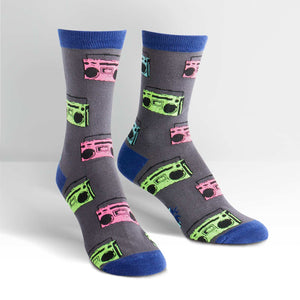 Sock it to Me Pump it Up Womens Crew Socks