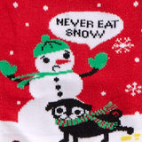 Sock it to Me Never Eat Snow Womens Crew Socks