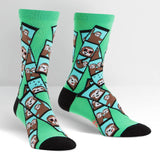 Sock it to Me  Oh Snap! Womens Crew Socks