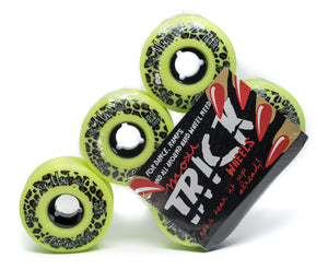 Riedell Moxi Trick Wheels 59mm 97a Green 4 Pack