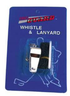 Pro Guard Whistle & Lanyard