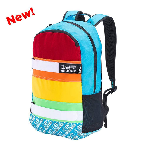 187 Killer Backpack Rainbow