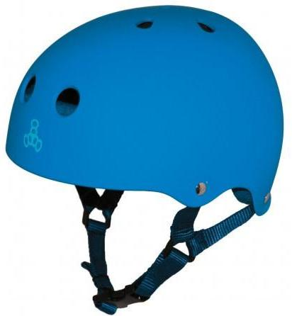 Triple 8 Brainsaver Helmet Royal Rubber