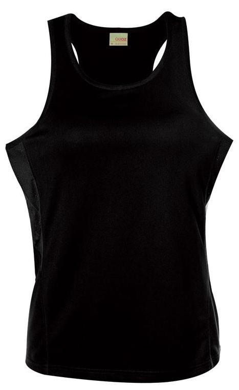 Scrimmage Singlet Womens Black