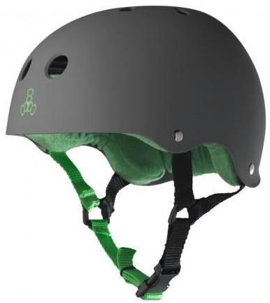 Triple 8 Brainsaver Helmet Carbon Rubber