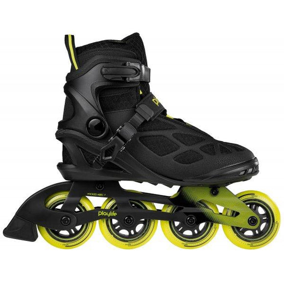 PlayLife Black 84 Lancer Inline Skates