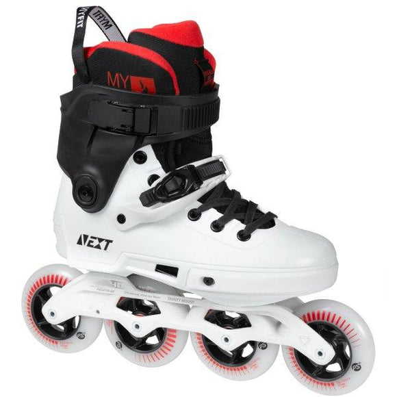 Powerslide Next Black White 90 Inline Skates