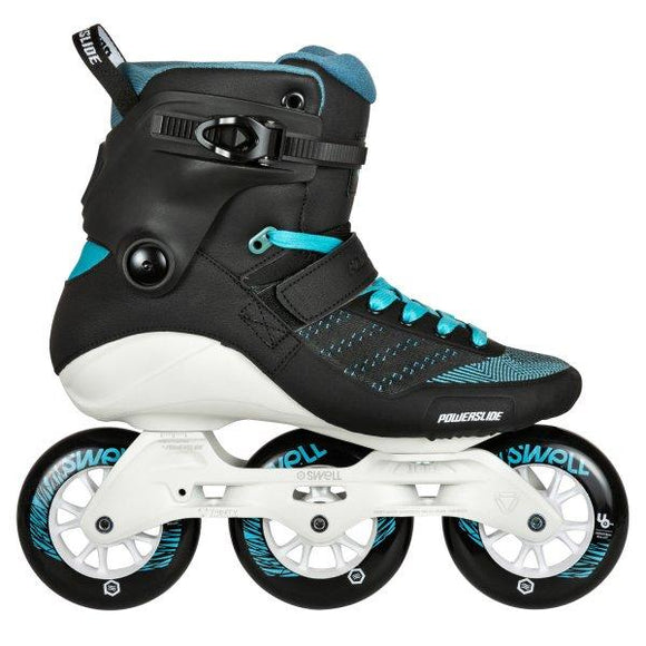 Powerslide Swell 100mm Aquamarine Inline Skates