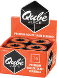 Qube Juice Bearings 7mm & 8mm 16 Pack