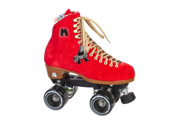 Moxi Lolly Skate Poppy Red (w Nylon Thrust)