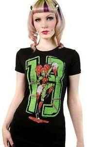 Sourpuss Zombie Cheerleader Shirt