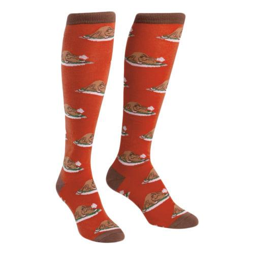 Sock it to Me Turkey Tim Knee High Socks