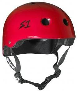 S1 Lifer Helmet Gloss Red