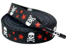 SourPuss Skull w/ Stars Red Laces 72