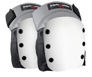 Triple 8 Street Knee Pads White Caps
