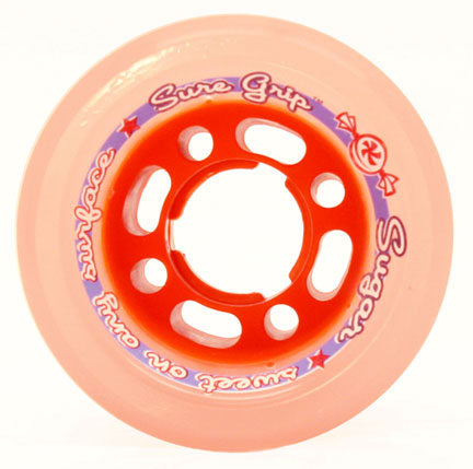 SureGrip Sugar Orange Wheels 84a 4pack
