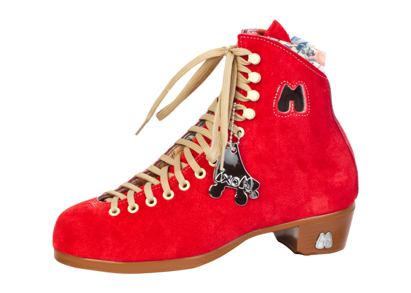Moxi Lolly Boots Poppy Red