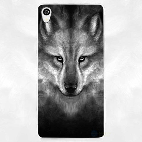 Coque Sony  Loup