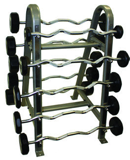 Troy Curl Urethane Barbell Set