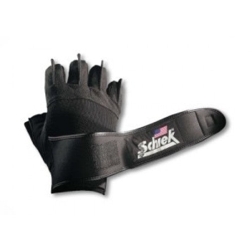Schiek 540 Platinum Series Lifting Gloves with Wrist Wraps