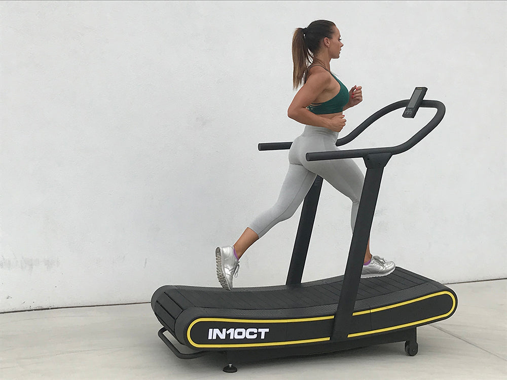 IN10CT Curved Manual Treadmill