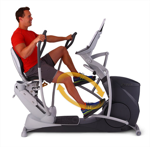 Octane XR6X Recumbent Elliptical