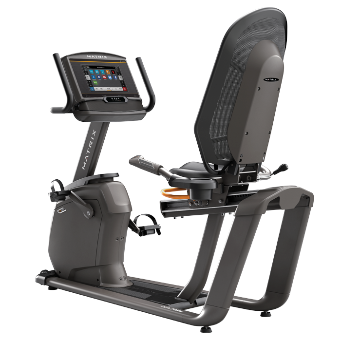Matrix R50 Recumbent Bike w/ XER Console