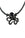 "Octopus Pendant on 18"" cord 
