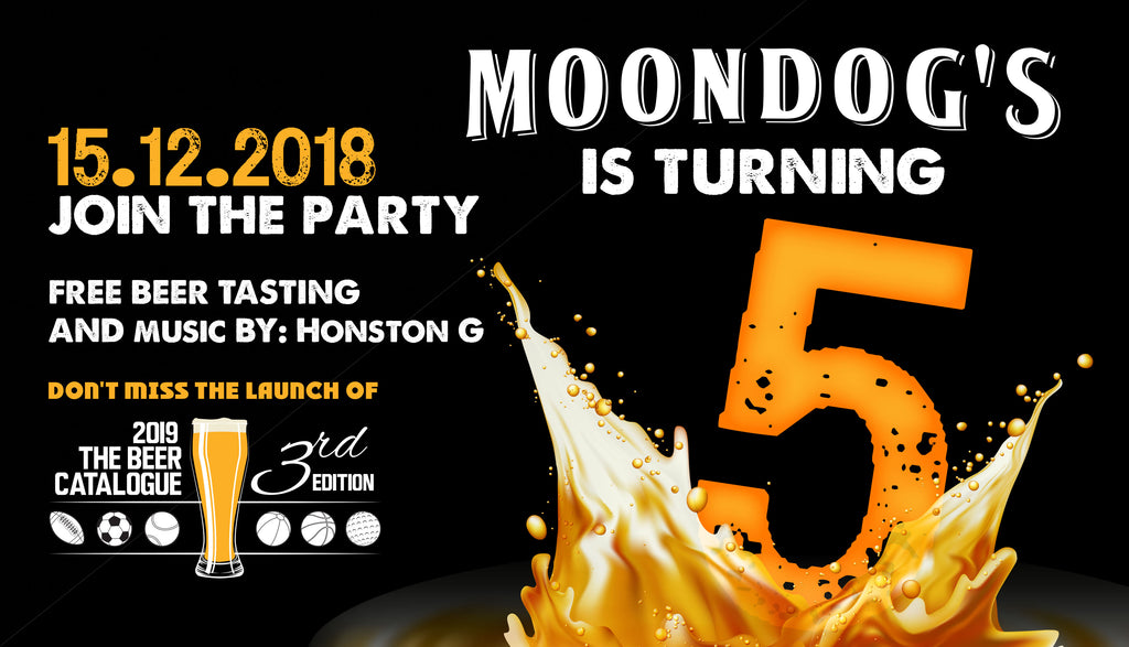 Moondog's is turning 5!
